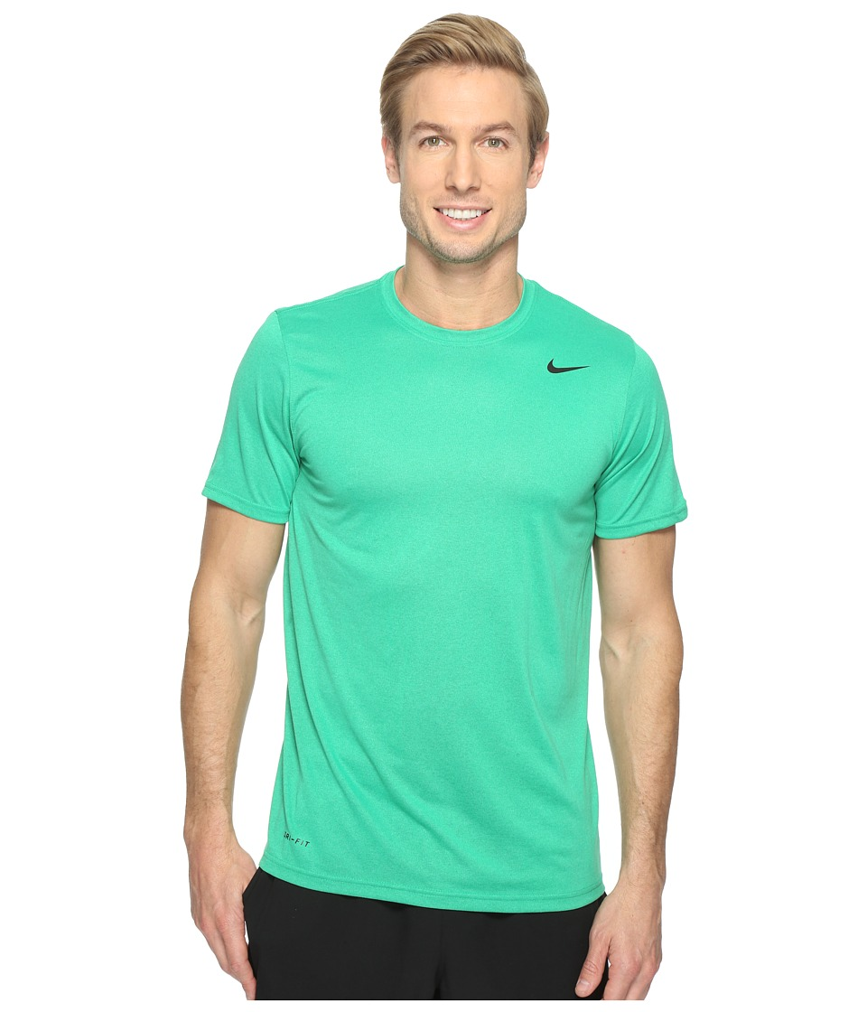 Nike Legend 2.0 Short Sleeve Tee (Stadium Green/Black) Men