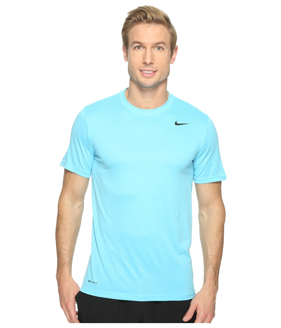 Nike Legend 2.0 Short Sleeve Tee (Vivid Sky/Still Blue/Black) Men