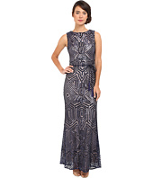 Vince Camuto - Geometric Sequins Gown