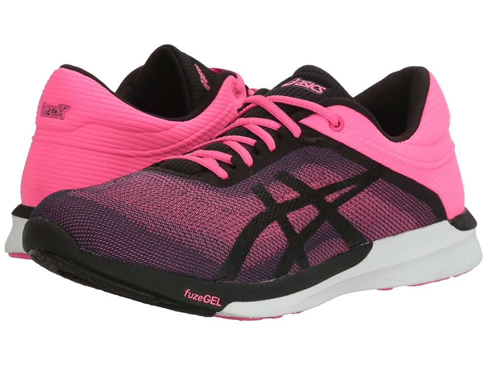 ASICS FuzeX Rush (Hot Pink/Black/White) Women