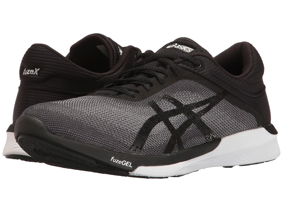 ASICS FuzeX Rush (Mid Grey/Black/White) Women