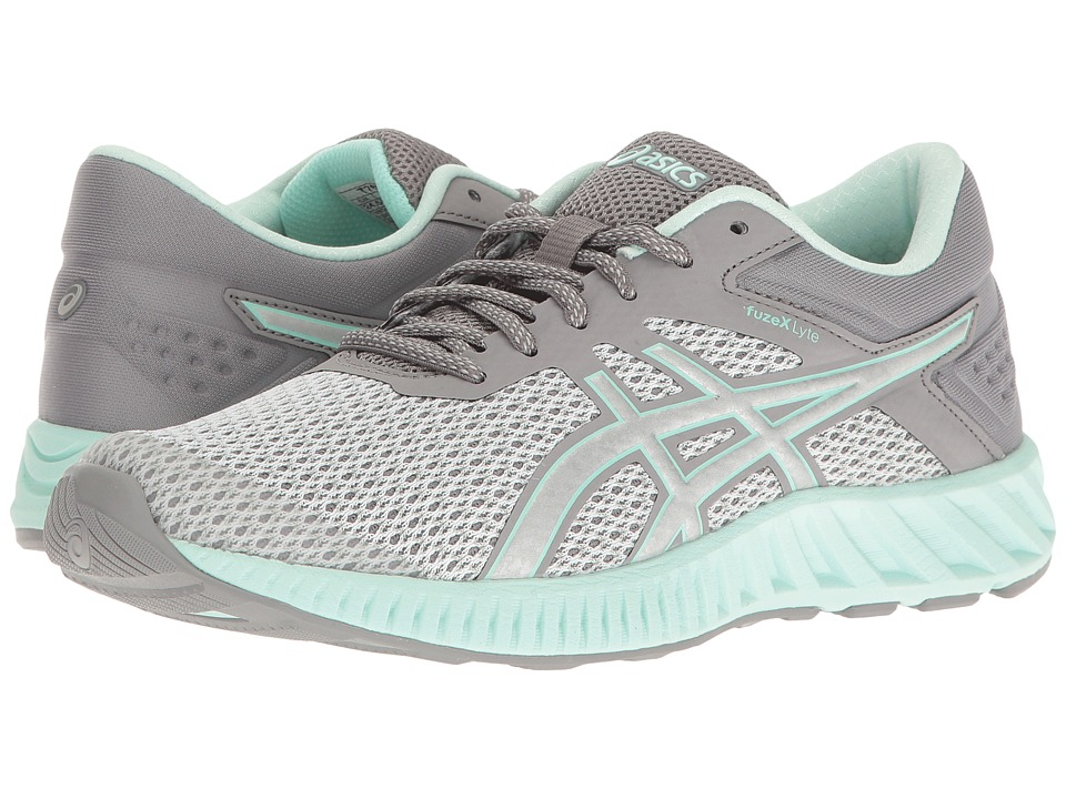 ASICS - FuzeX Lyte 2 (Mid Grey/Silver/Bay) Womens Running Shoes