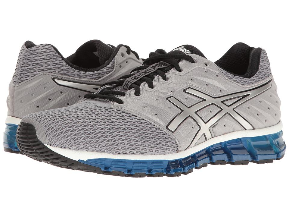 ASICS - Gel-Quantum 180 2 (Aluminum/Silver/Black) Mens Running Shoes