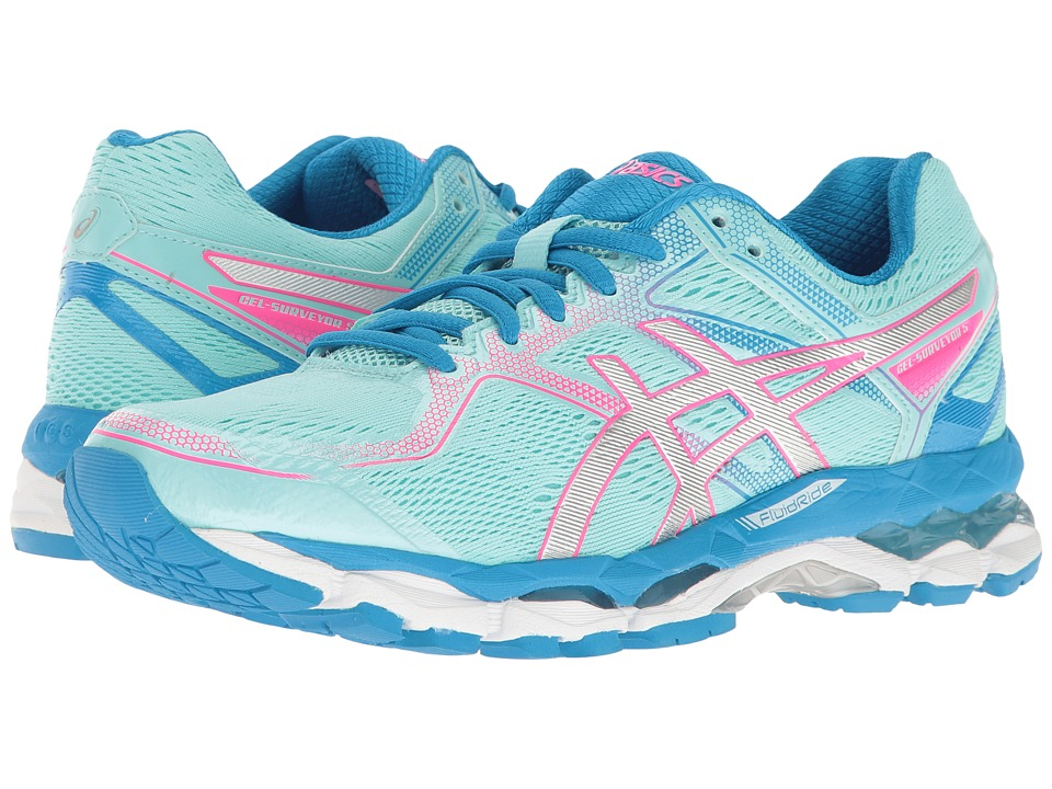 ASICS Gel-Surveyor 5 (Aqua Splash/Silver/Diva Blue) Women