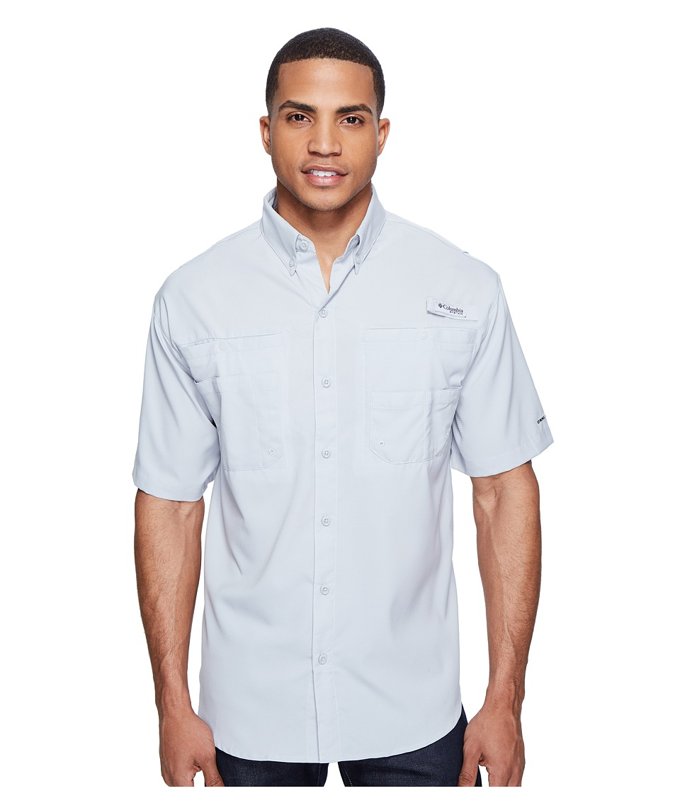 Columbia - Tamiamitm II S/S (Cool Grey) Mens Short Sleeve Button Up