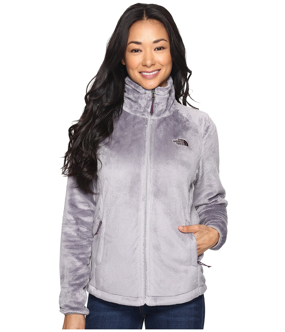 North Face Osito 2 Jacket (Metallic Silver/Blackberry Win...