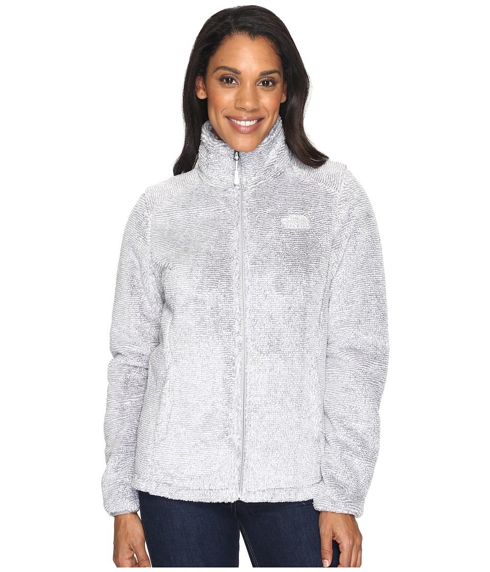 North Face Osito 2 Jacket (TNF White/Metallic Silver Stri...