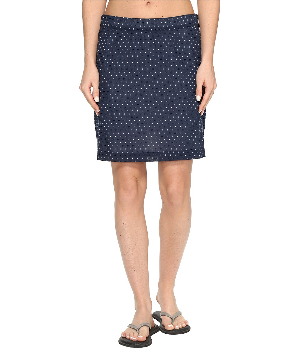 Columbia Sun Driftertm Skirt (Collegiate Navy Dotty) Women