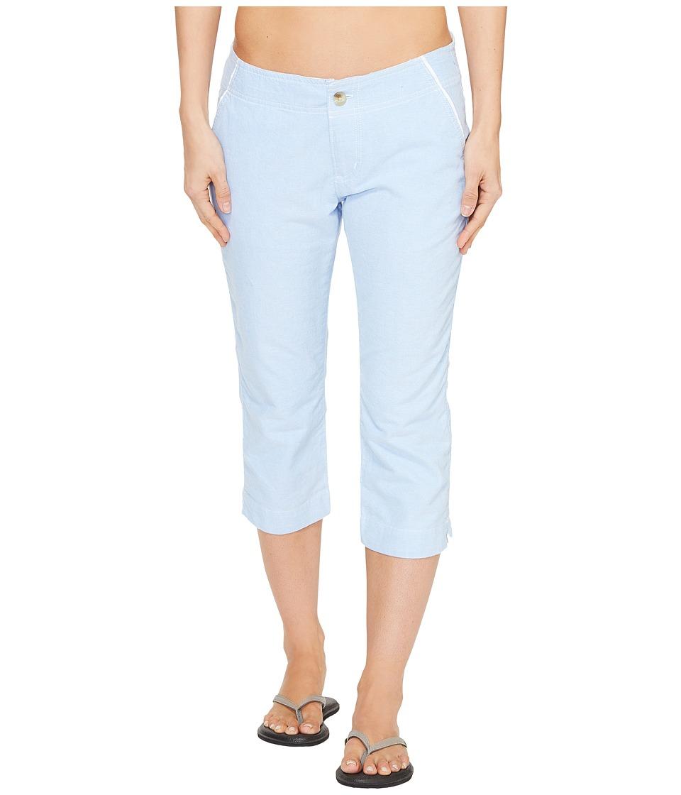 Columbia Solar Fadetm Capri Pants (Harbor Blue) Women