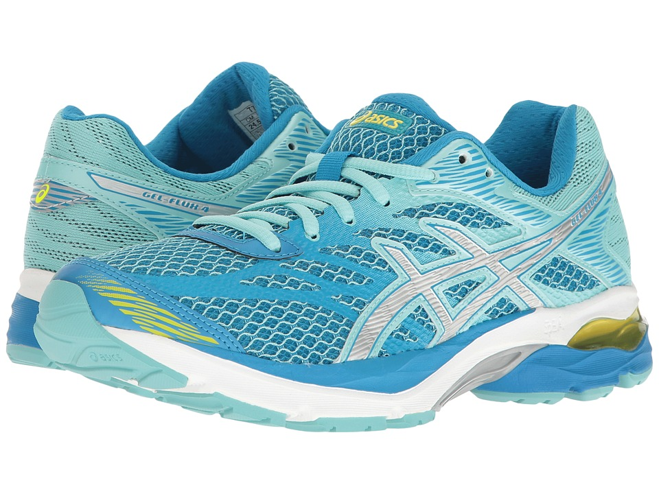 ASICS GEL-Flux 4 (Diva Blue/Silver Aqua Splash) Women