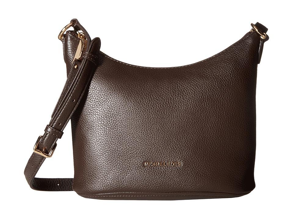 MICHAEL Michael Kors - Lupita Md Messenger (Coffee) Messenger Bags