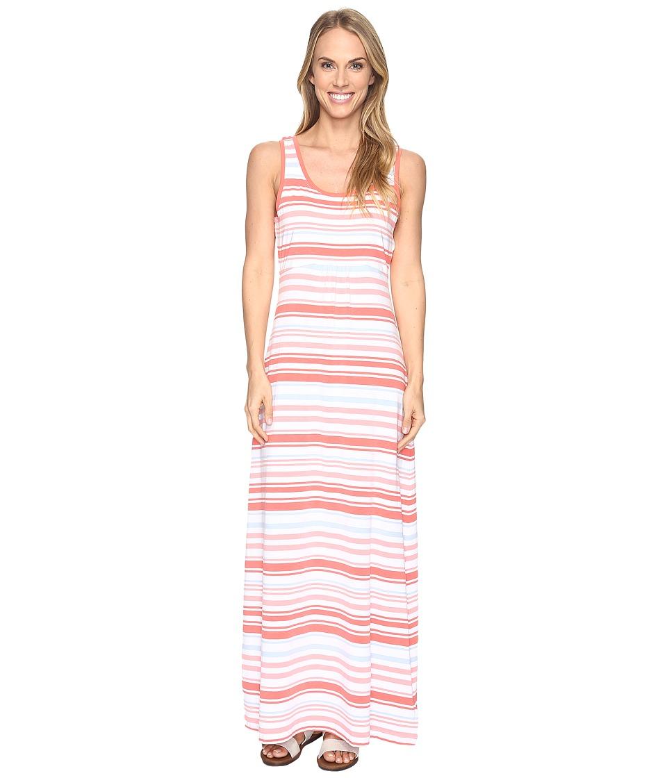 Columbia Reel Beautytm II Maxi Dress (Melonade Variegated Stripe) Women