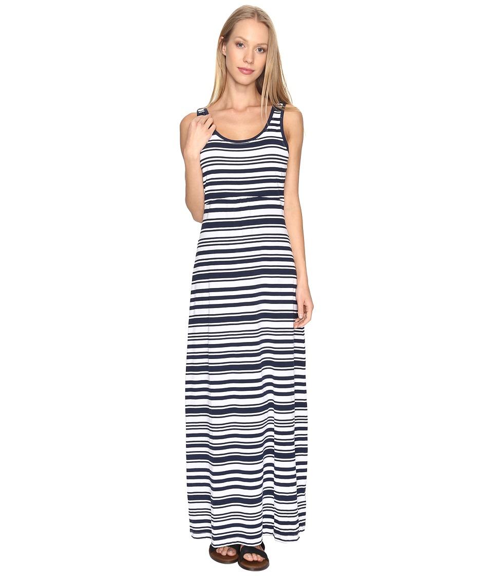 Columbia Reel Beautytm II Maxi Dress (Collegiate Navy Variegated) Women