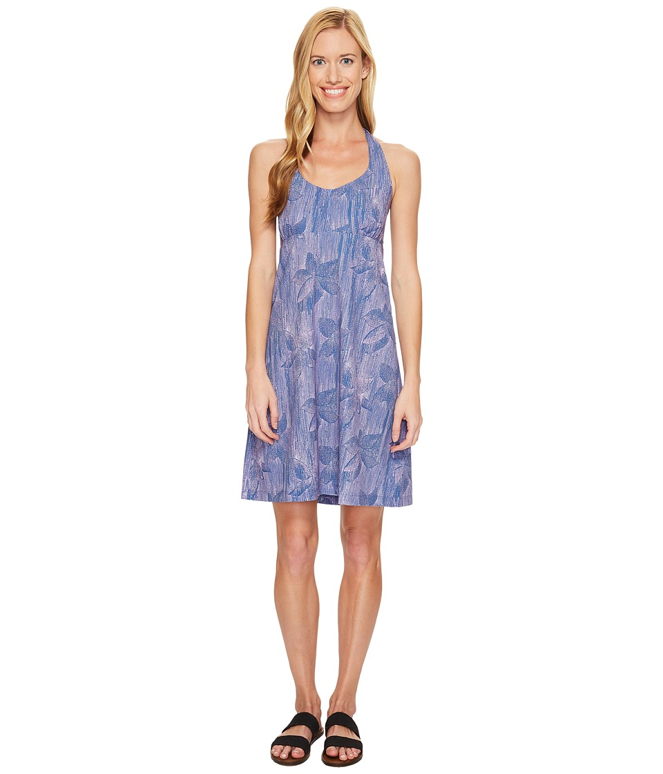 Columbia Armadale Halter Top Dress (Bluebell Hazy Floral) Women