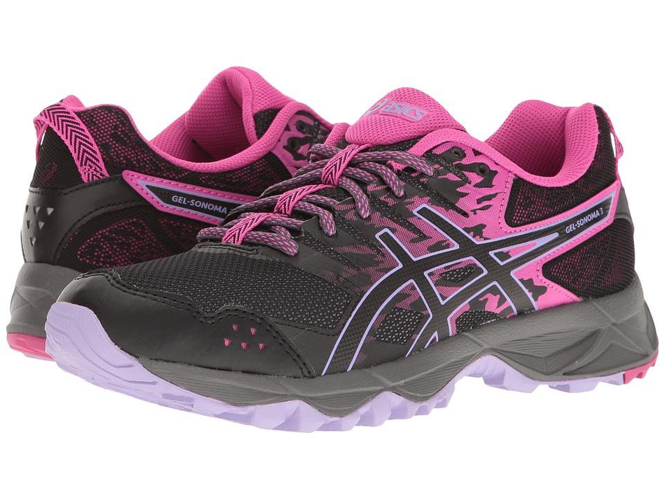 ASICS GEL-Sonoma 3 (Pink Glow/Black/Lavender) Women