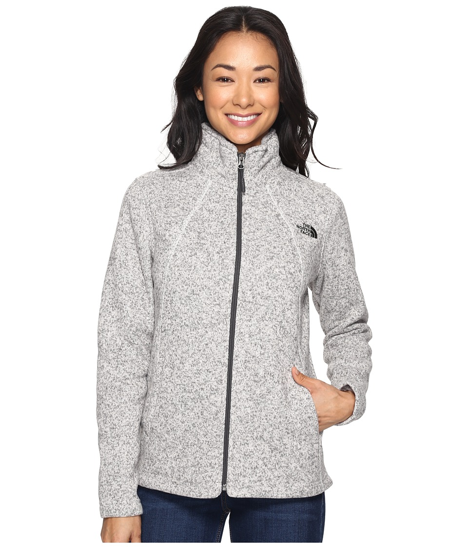The North Face Crescent Full Zip (Moonlight Ivory Heather) Women