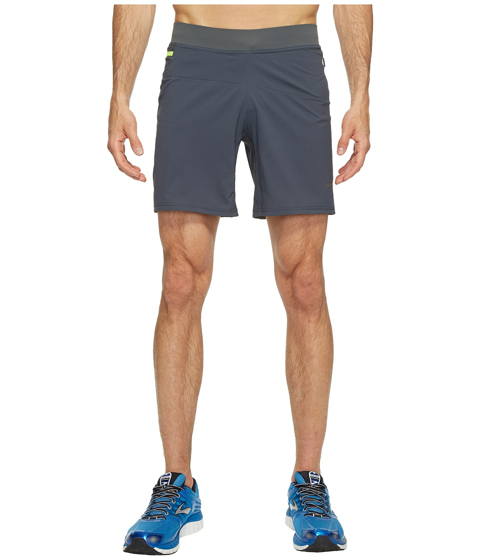 Brooks Cascadia 7 Shorts (Asphalt) Men