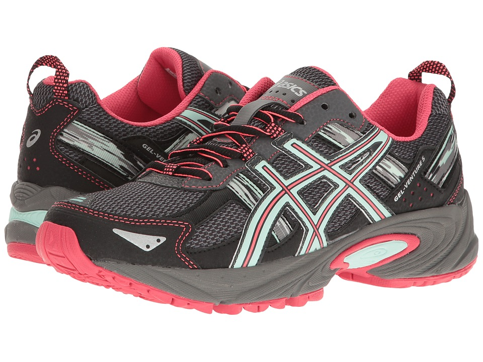 ASICS Gel-Venture 5 (Carbon/Diva Pink/Bay) Women