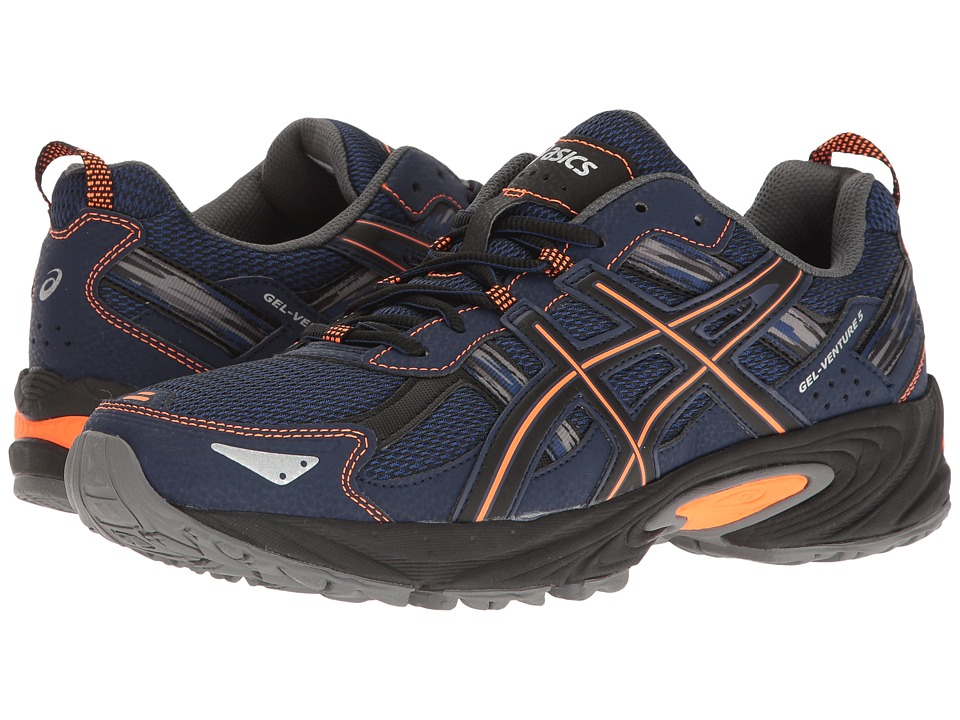 ASICS Gel-Venture 5 (Indigo Blue/Hot Orange/Black) Men