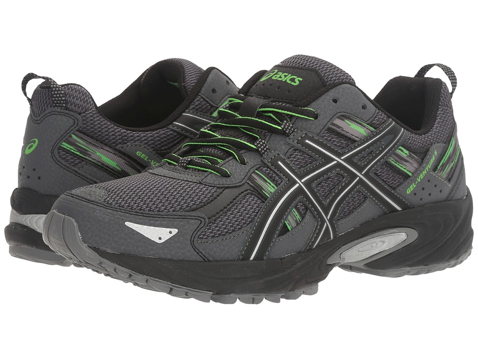 ASICS Gel-Venture 5 (Carbon/Silver/Green Gecko) Men