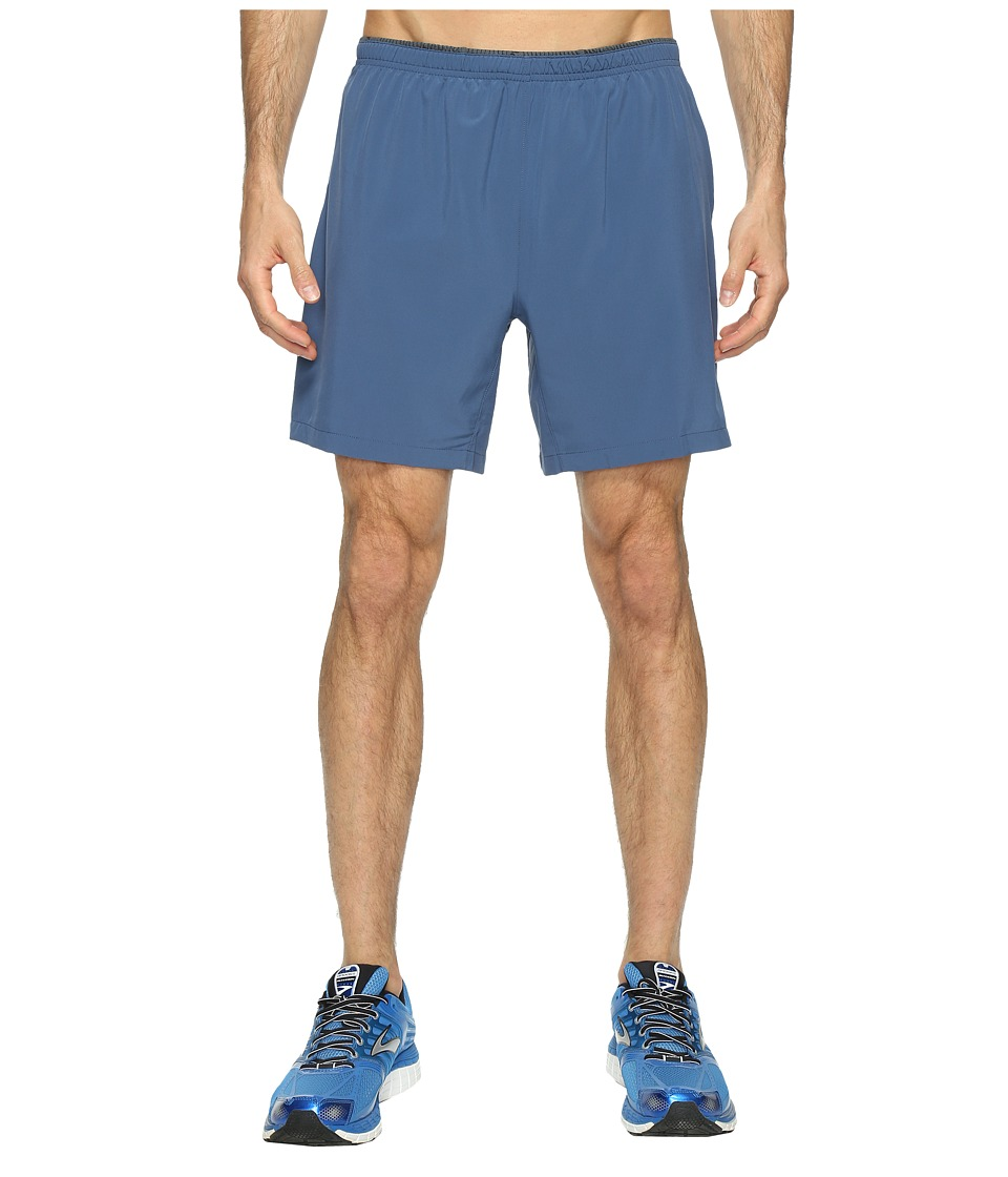 Brooks Sherpa 7 2-in-1 Shorts (Ink) Men