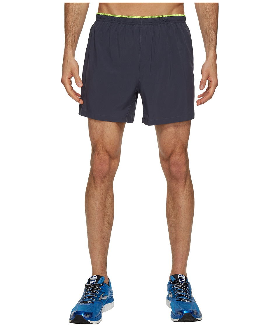 Brooks Sherpa 5 Shorts (Asphalt/Nightlige) Men