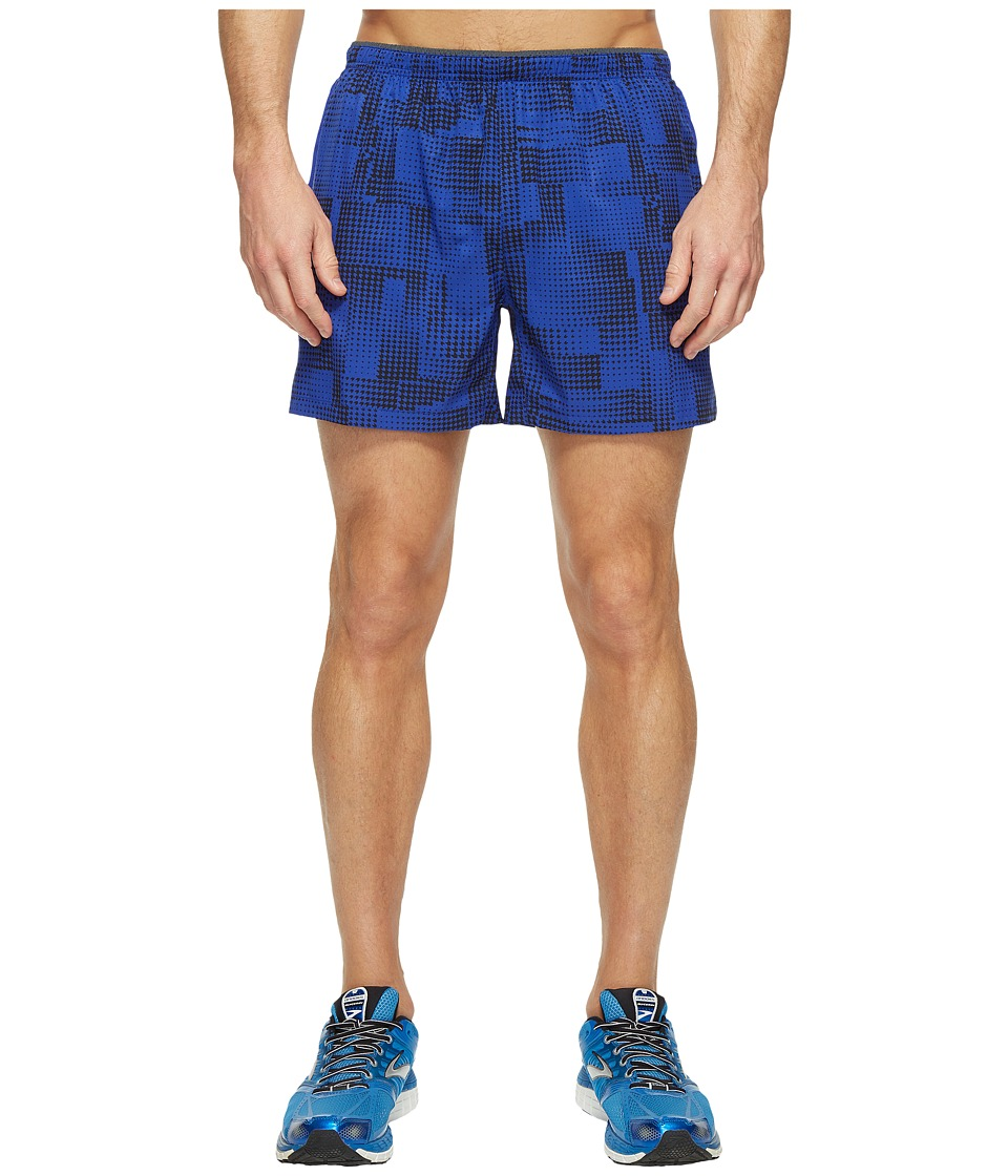 Brooks Sherpa 5 Shorts (Cobalt/Maze) Men