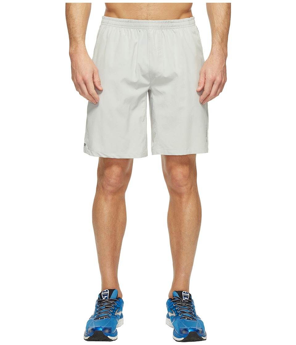 Brooks Rush 9 Shorts (Sterling) Men