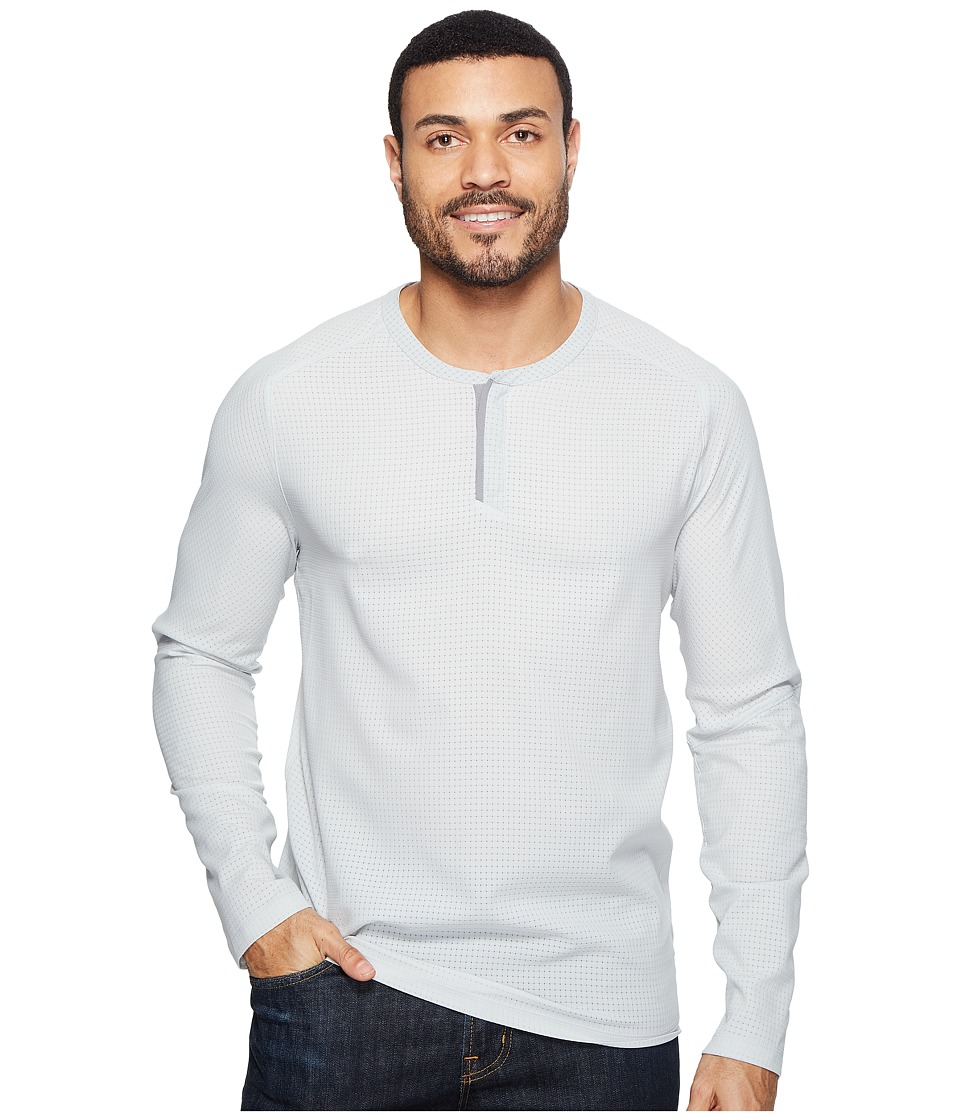 Mountain Hardwear MHW AC Long Sleeve Henley (Grey Ice) Men