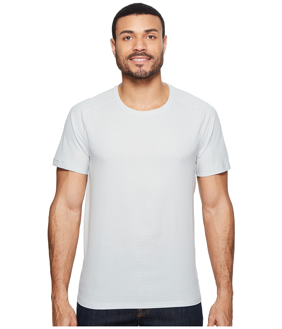 Mountain Hardwear MHW AC Short Sleeve Tee (Grey Ice) Men