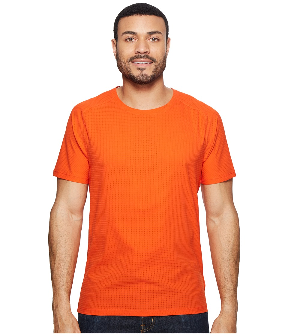 Mountain Hardwear MHW AC Short Sleeve Tee (State Orange) Men
