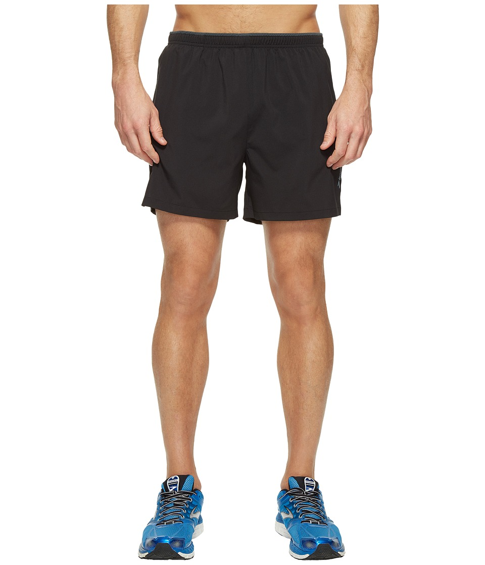 Brooks Go-To 5 Shorts (Black) Men