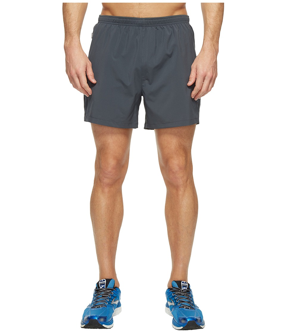 Brooks Go-To 5 Shorts (Asphalt) Men