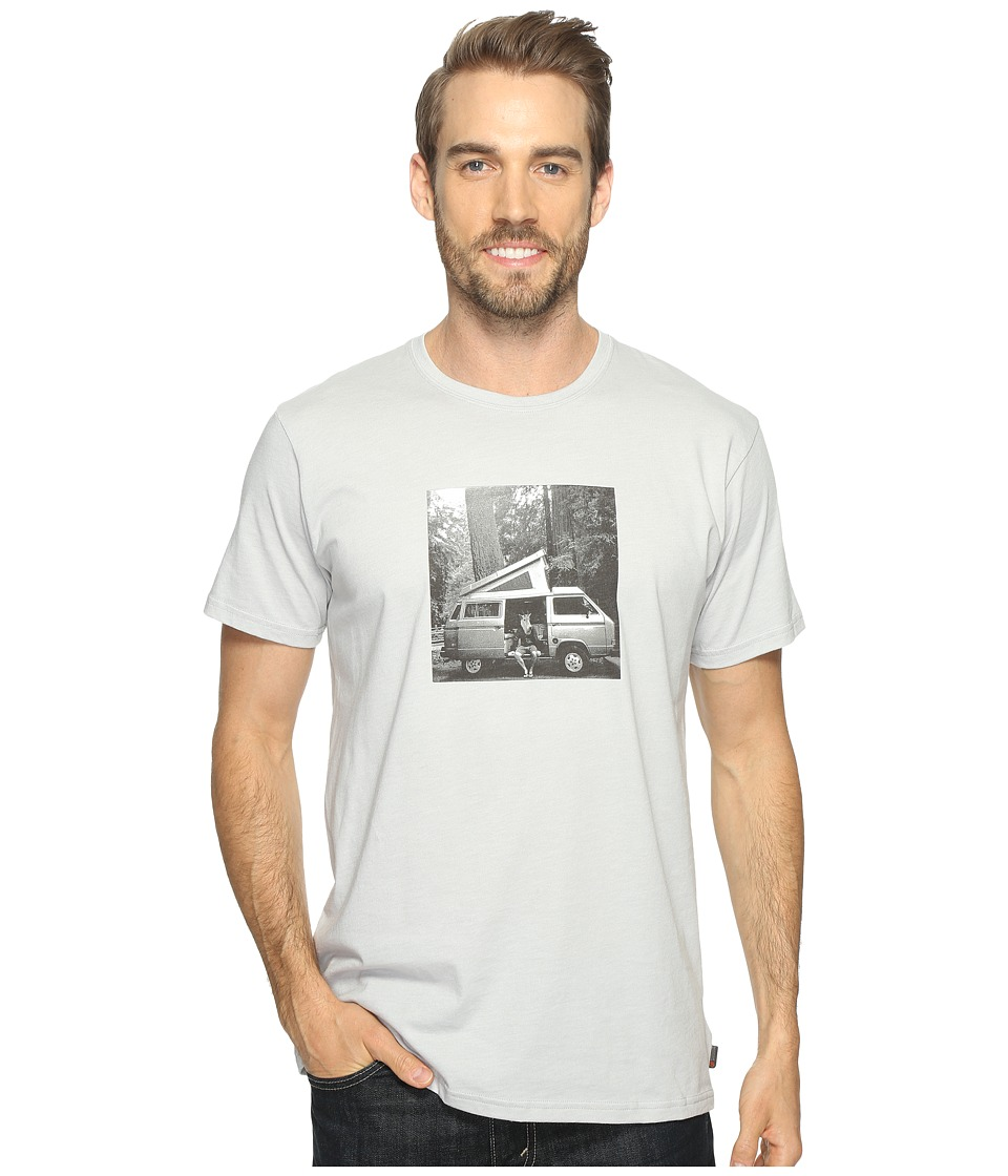Mountain Hardwear A Man and His Van Tee (Heather Grey Ice) Men