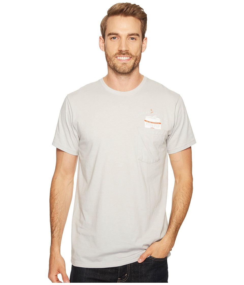 Mountain Hardwear No Can Left Behind Tee (Heather Grey Ice) Men