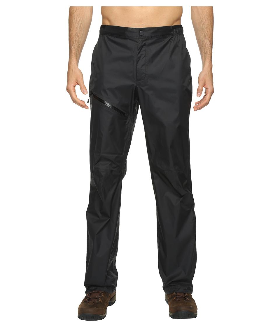 Mountain Hardwear - Exponent Pants (Black) Mens Casual Pants