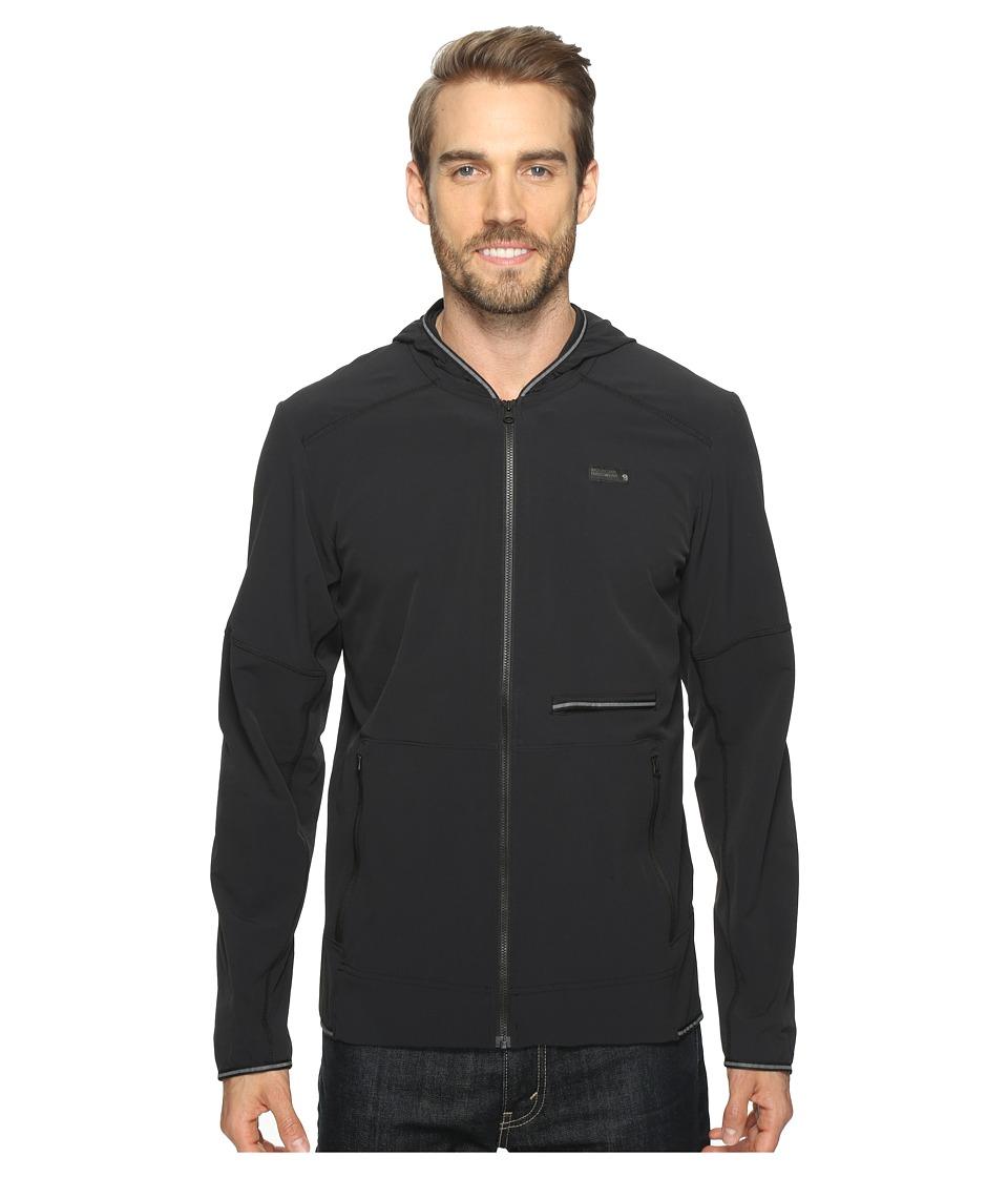 Mountain Hardwear - Speedstone Hooded Jacket (Black) Mens Coat