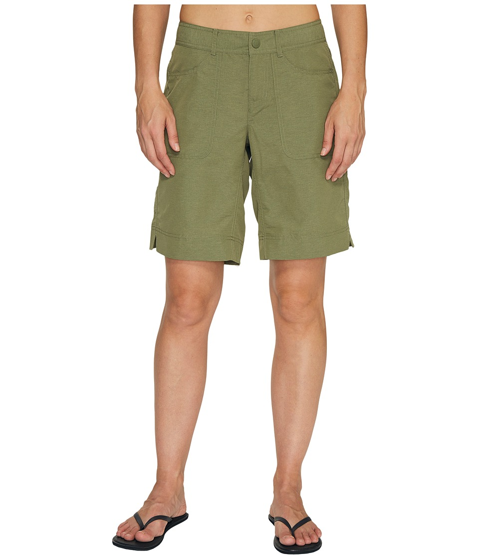 The North Face - Horizon 2.0 Roll-Up Shorts (Deep Lichen Green Heather (Prior Season)) Womens Shorts
