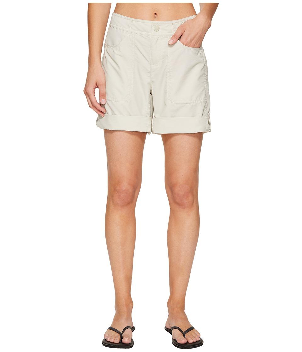 North Face Horizon 2.0 Roll-Up Shorts (Desert Shale Tan H...