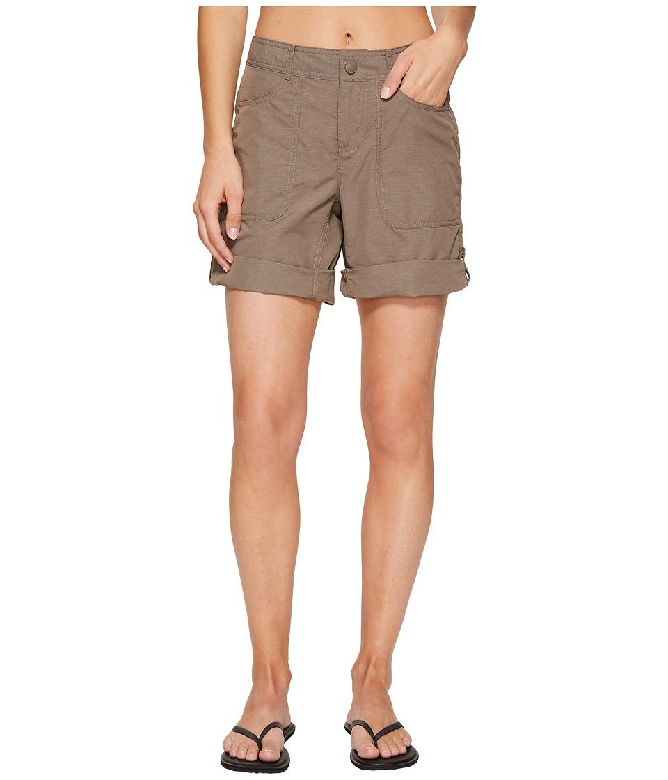North Face Horizon 2.0 Roll-Up Shorts (Falcon Brown Heath...