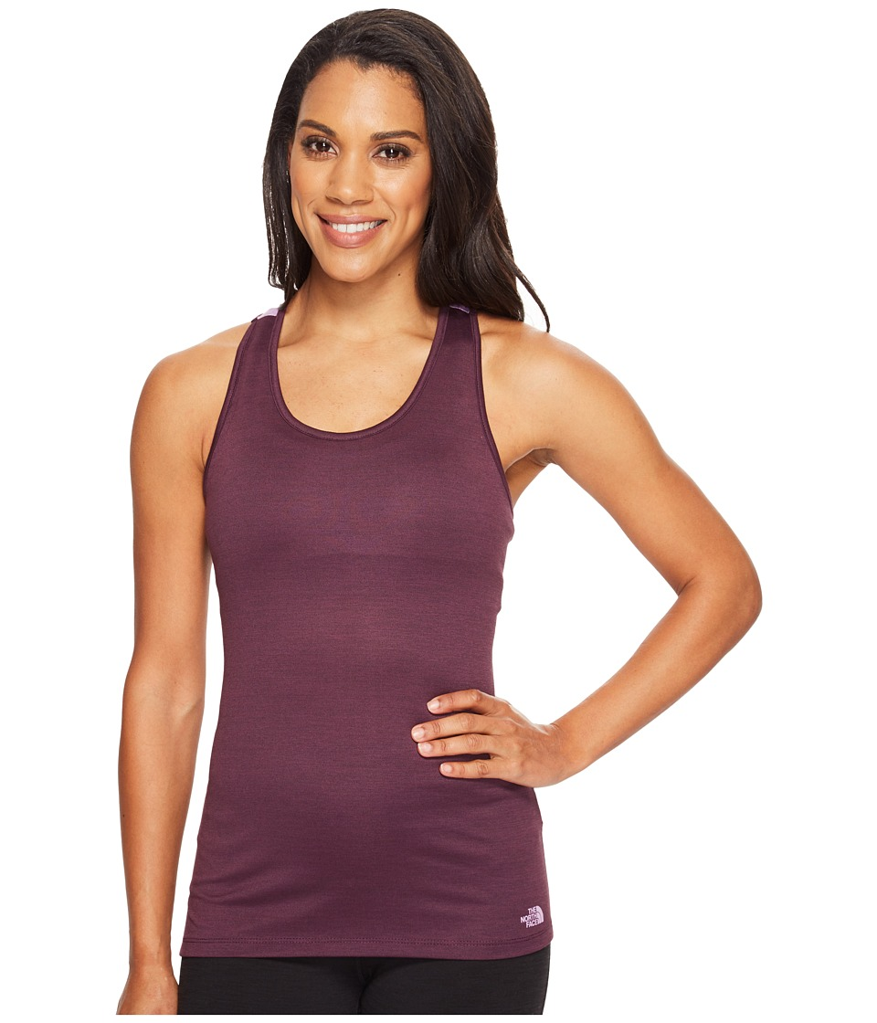 The North Face Adventuress Tank Top (Blackberry Wine Heather) Women