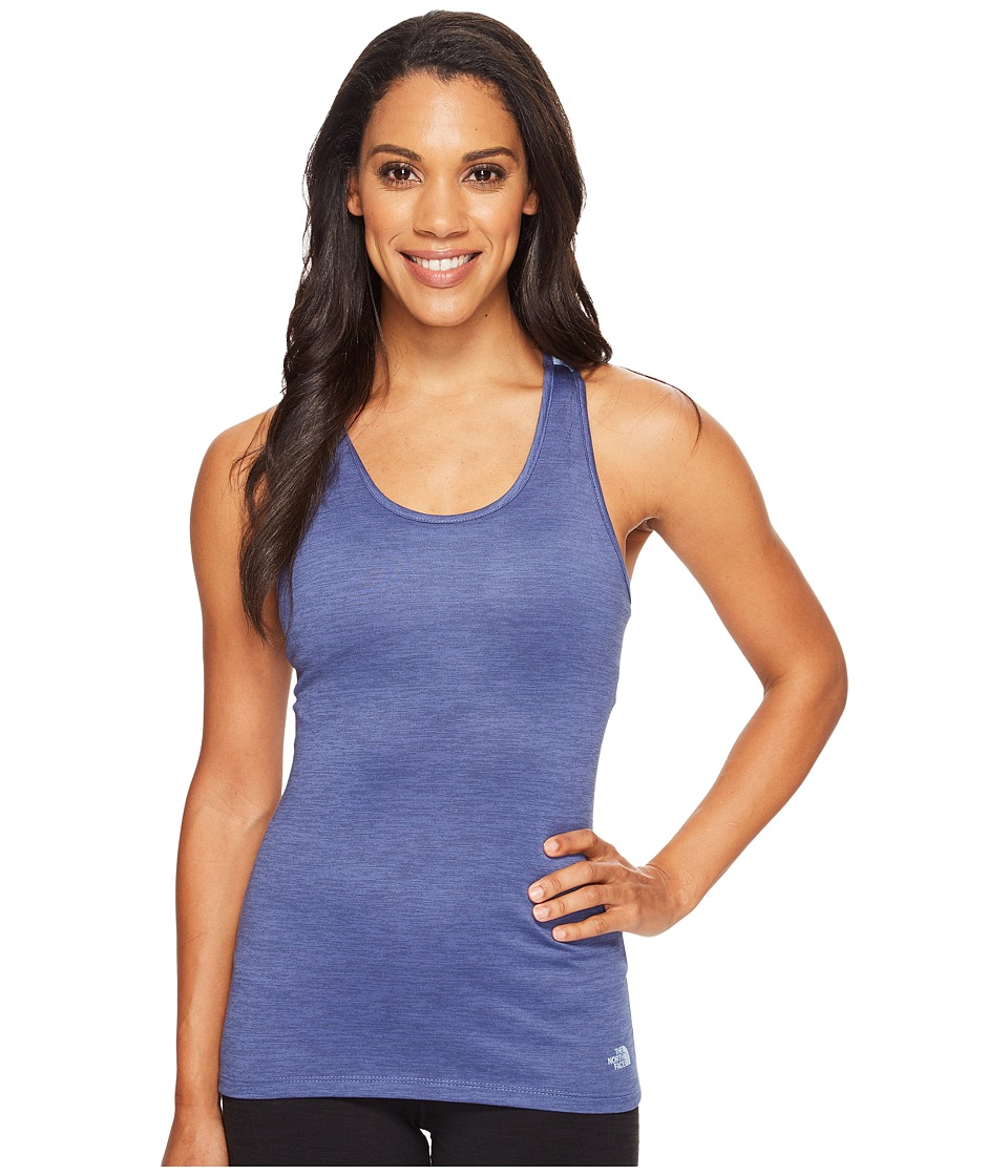 The North Face Adventuress Tank Top (Coastal Fjord Blue Heather) Women
