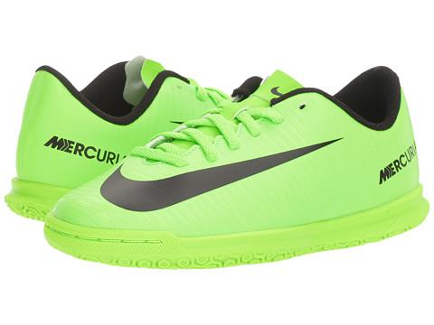 Nike Kids Mercurial Vortex III IC Soccer (Little Kid/Big Kid)