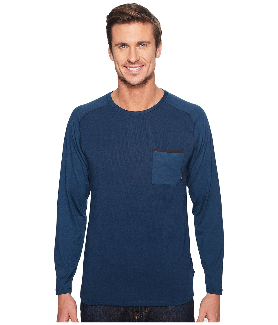 Mountain Hardwear Coolhiker AC Long Sleeve Tee (Hardwear Navy) Men