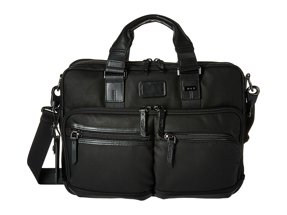 Tumi - Alpha Bravo - Andersen Slim Commuter Brief (Black) Briefcase Bags