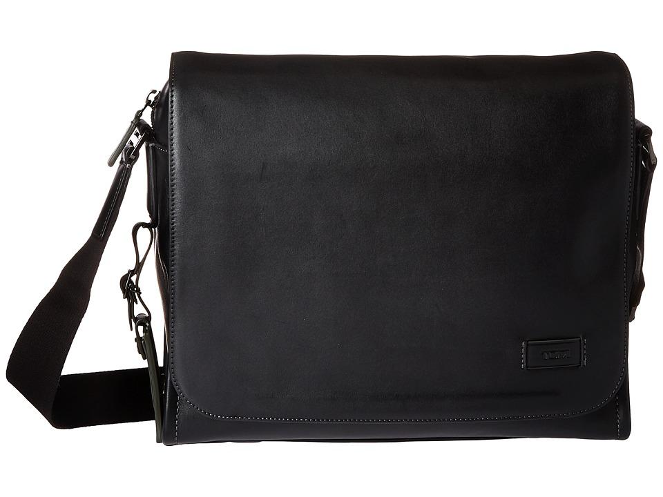 TUMI Harrison - Davenport Messenger (Black) Messenger Bags