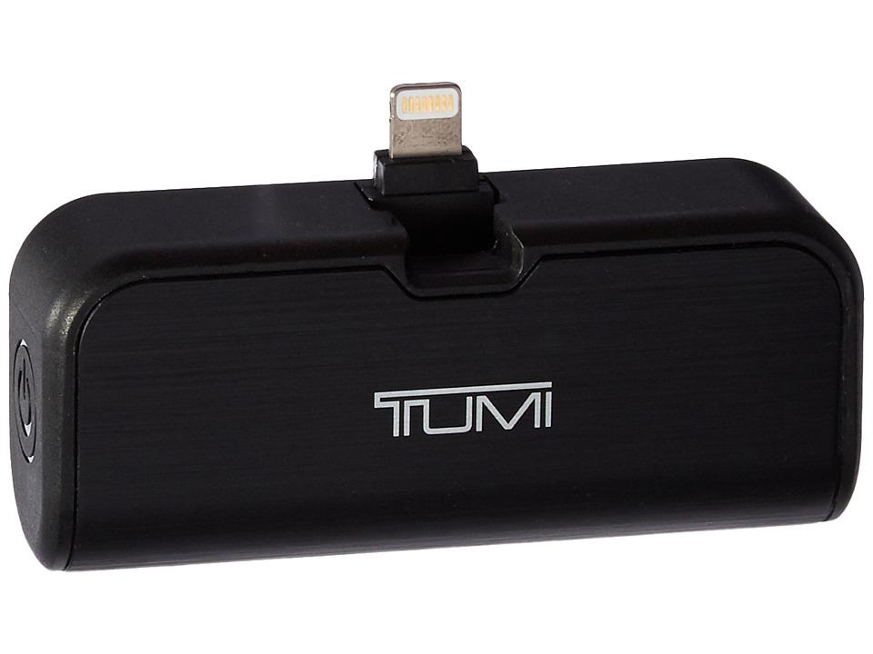 Tumi - 2,600 mAh Portable Battery Bank with Lightning Swivel