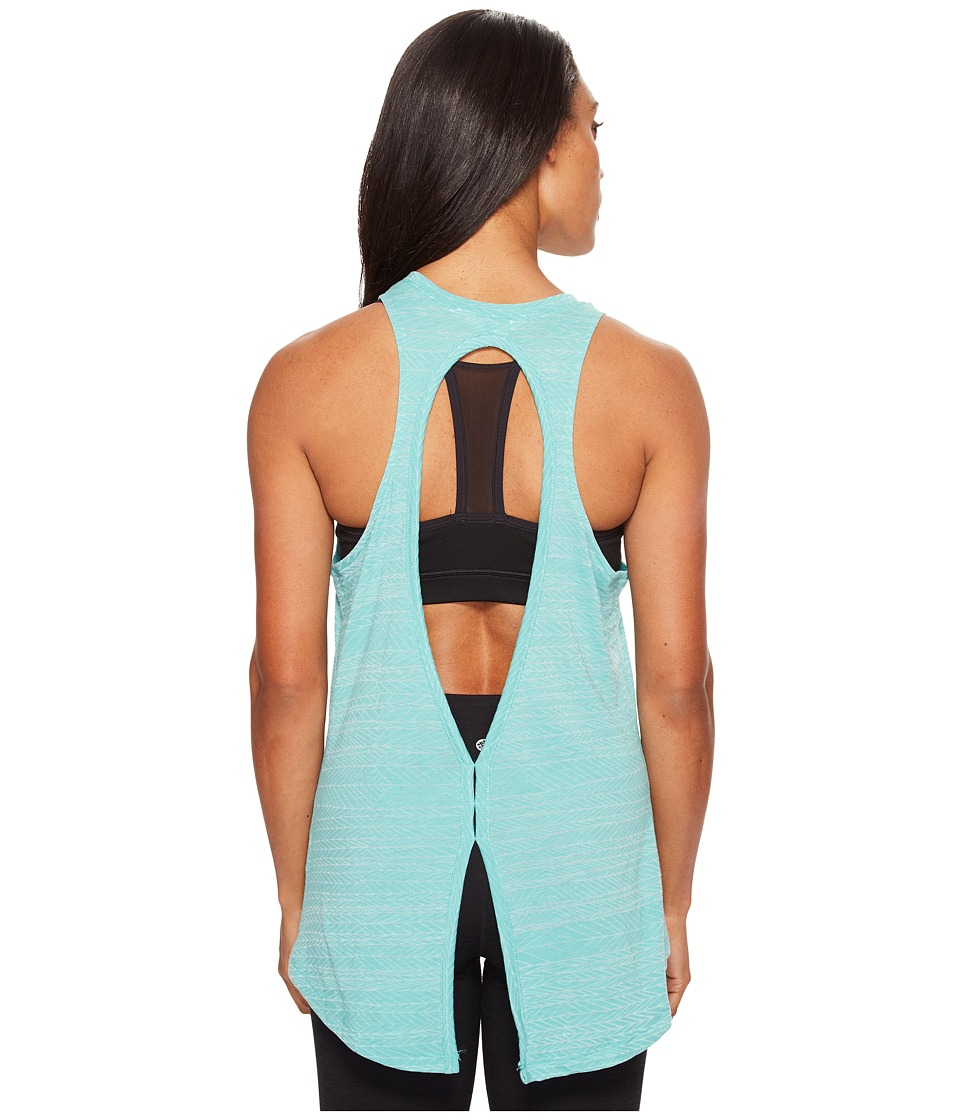 The North Face Burn It Tank Top (Agate Green Heather (Prior Season)) Women