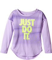 Nike Kids - Just Do It Wave Dri-FIT Modern Tee (Toddler)