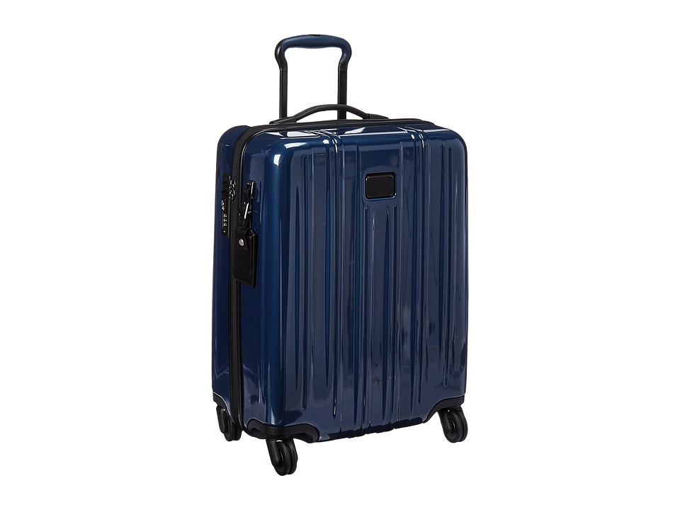 Tumi - V3 International Slim Carry-On (Steel Blue) Carry on Luggage